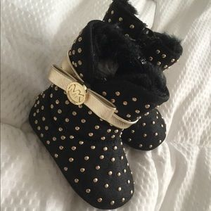 Studded Infant Michael Kors Boots